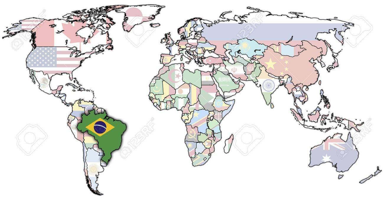 Brazil di peta dunia brazil dalam peta dunia amerika selatan brazil dalam peta dunia gumiabroncs Image collections